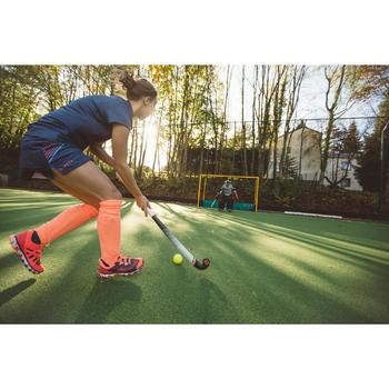 Jupe de hockey sur gazon femme FH500 bleu