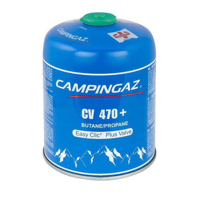 Cartucho Válvula Gas Hornillo CV 470 Plus | 450 Gramos