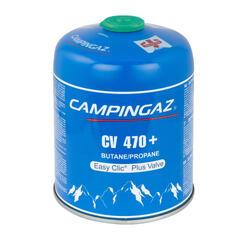 Cartucho de gas de válvula CV470 + para hornillo (450 gramos)
