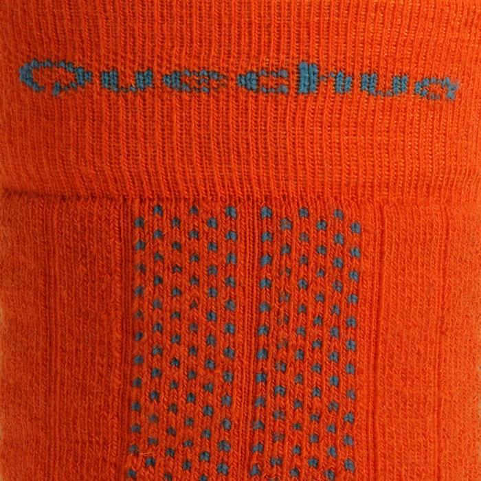 Chaussettes de randonnée neige enfant SH500 active chaudes Rose et - 1332747