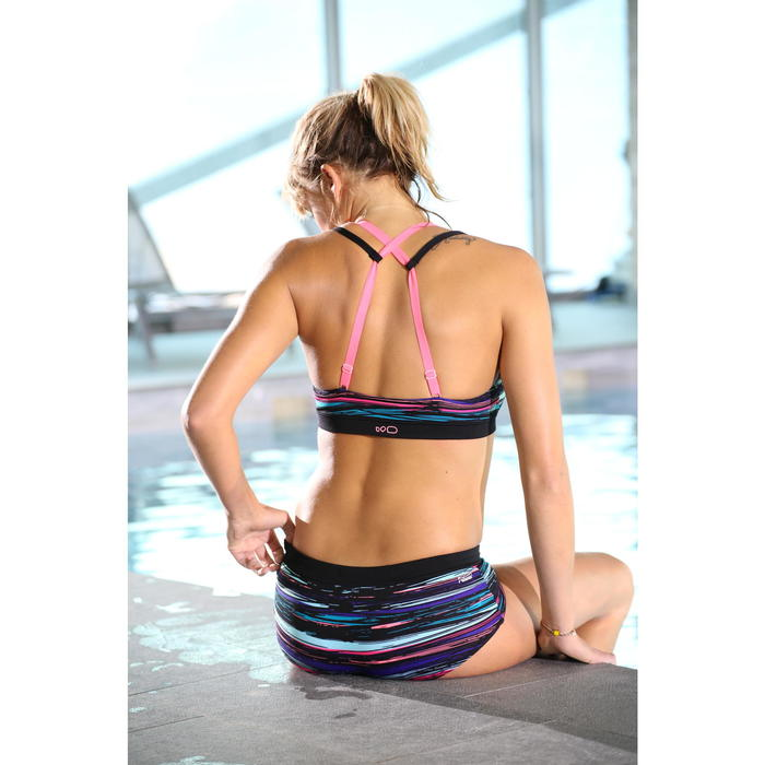Brassière Aquafitness Aquabike Meg TROPICAL - 1332861