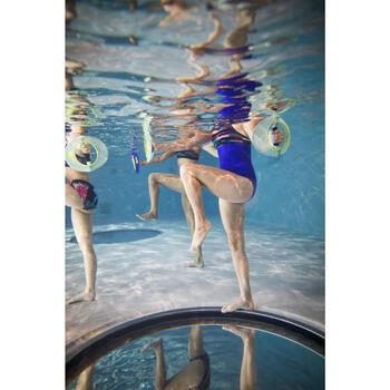 Maillot de bain d'Aquafitness une pièce Meg ultra résistant au chlore Stri - 1332887