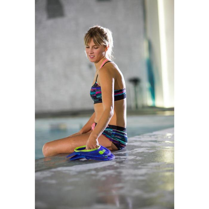 Short de bain d'Aquafitness Meg ultra résistant au chlore Noir