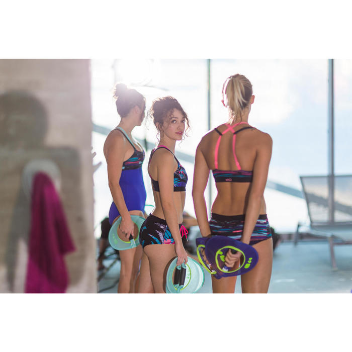Brassière Aquafitness Aquabike Meg TROPICAL - 1332899
