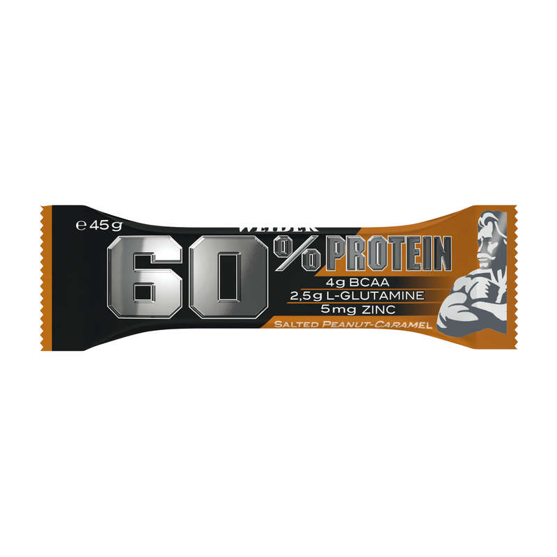 PROTEINS AND SUPPLEMENTS Boxing - Bar 60% Caramel/Peanut WEIDER - Boxing Nutrition