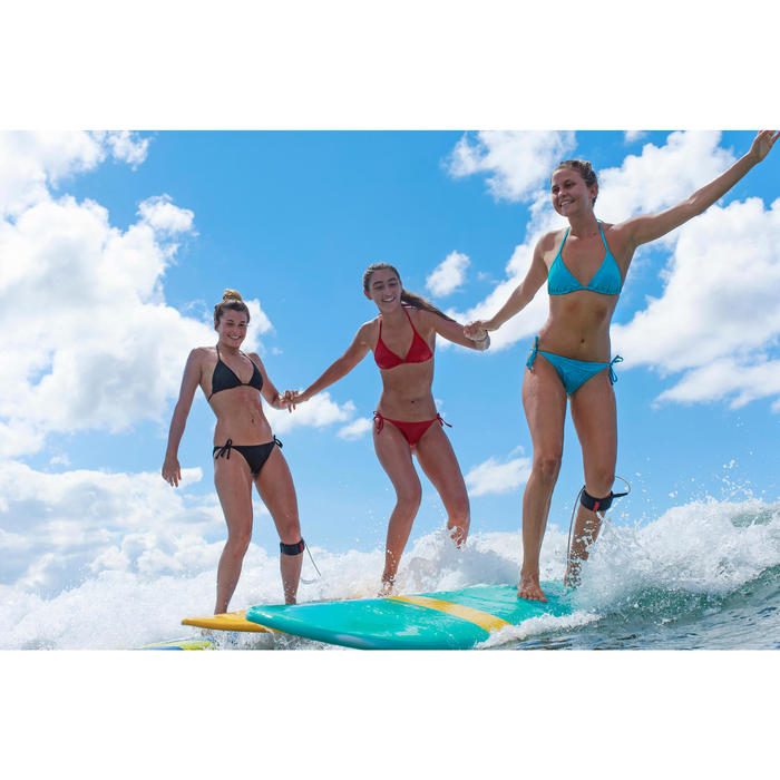 Bas de maillot de bain de surf femme nouée côté SOFY ORIGAMI - 1332974