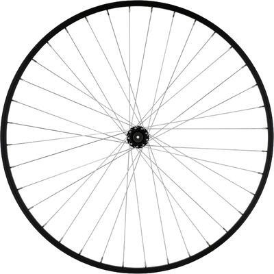 "Wheel 26"" Front Single-Wall Rim Brake Pads Mountain Bike - Black"