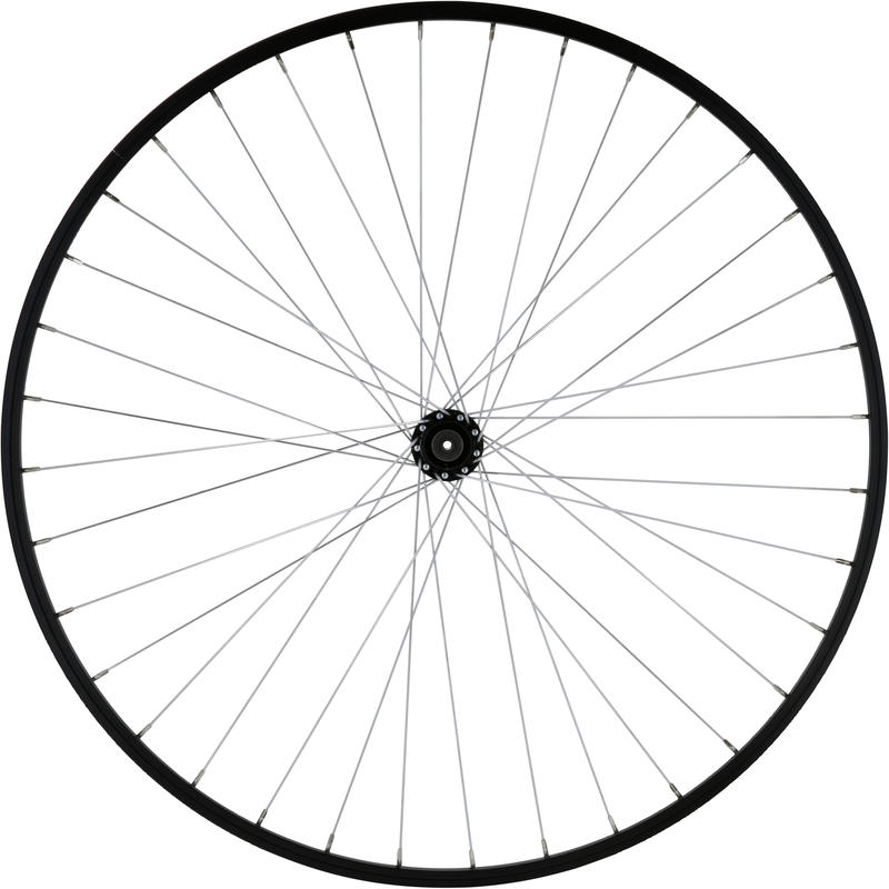 Mountain Bike Wheel 26_QUOTE_ Front Single-Wall V-Brake - Black