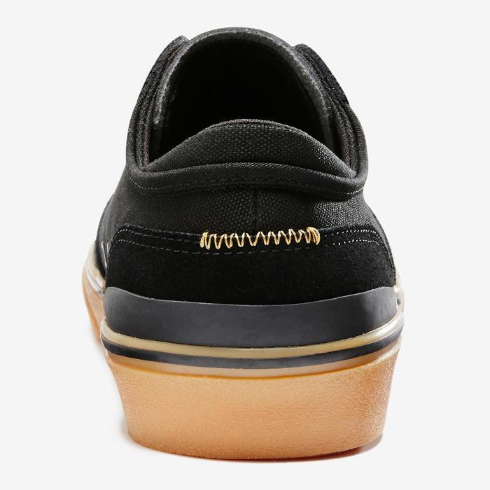 Chaussures basses de skateboard adultes VULCA 500 noire - 1333004