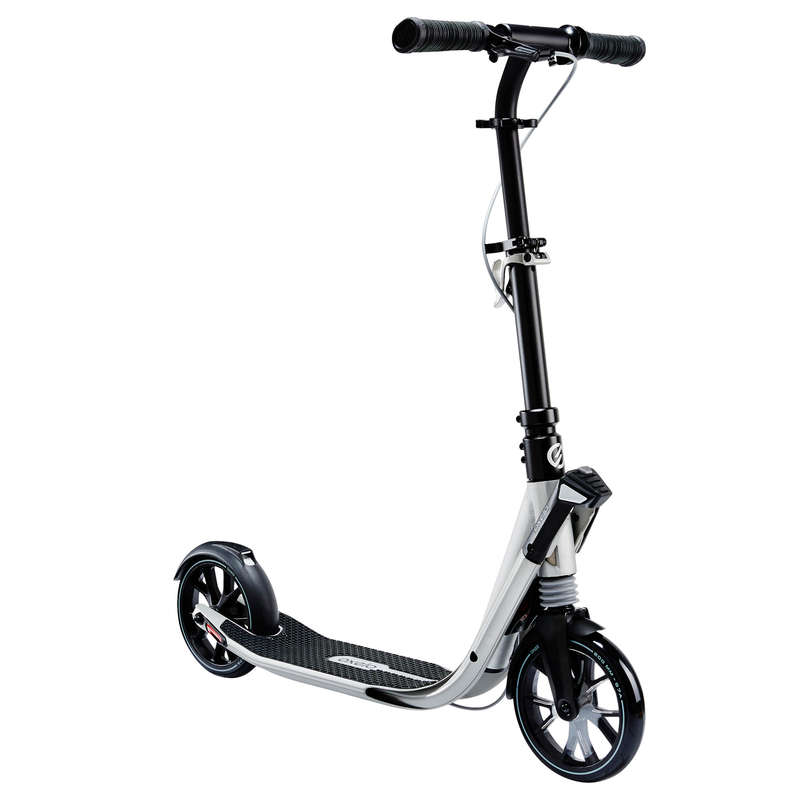 Városi rollerek Roller - Town 9EF 2015 roller, ezüst OXELO - OXELO