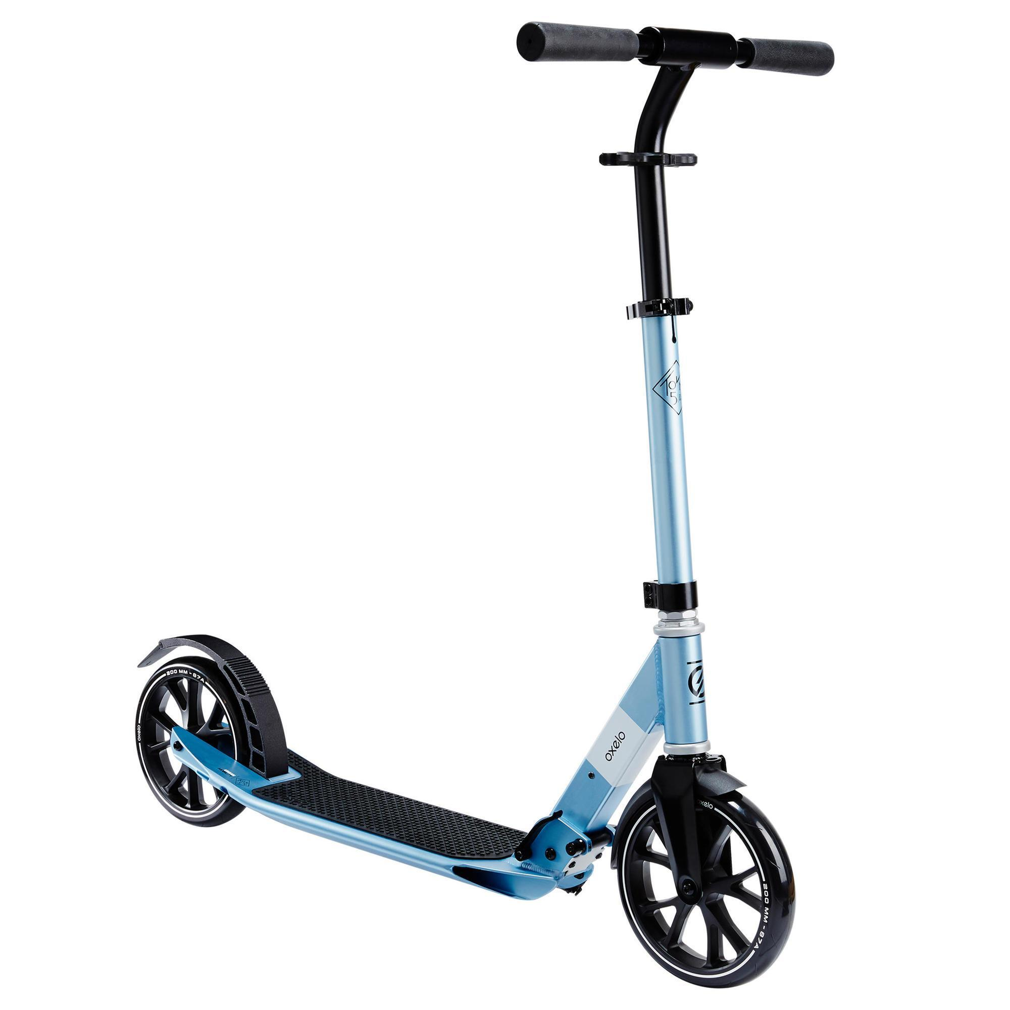 TROTTINETTE ADULTE TOWN 5 XL GRISE OXELO