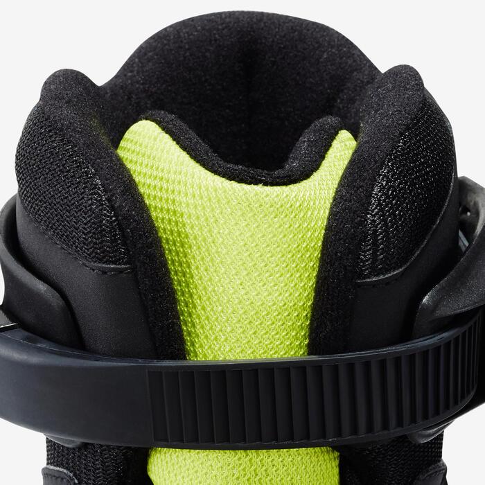 Roller fitness homme BRAVO noir jaune - 1333017