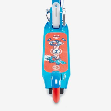 "Bērnu skrejritenis ar bremzēm ""Play5"", zils"
