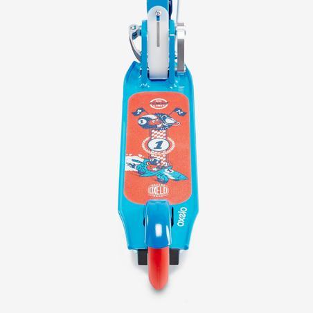 Детский самокат для мальчиков с ручным тормозом Play 5