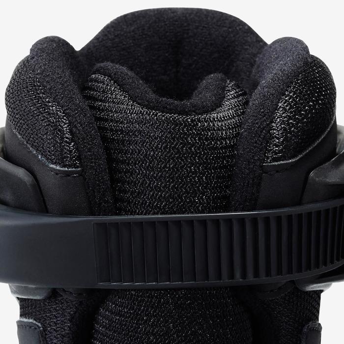 Roller fitness femme BRAVO noir turquoise - 1333038