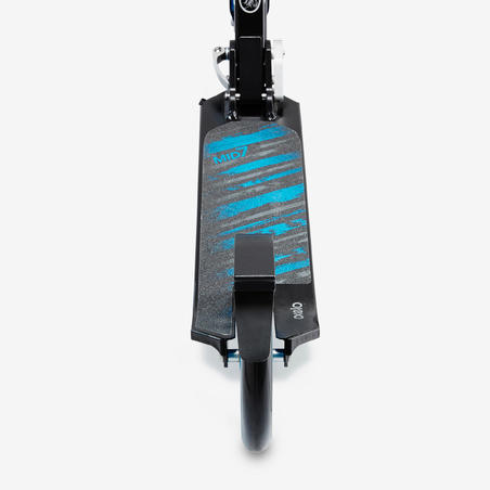Mid 7 Scooter with Stand - Black/Blue