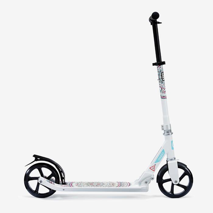 City-Roller Scooter Mid 7 Mandala mit Ständer