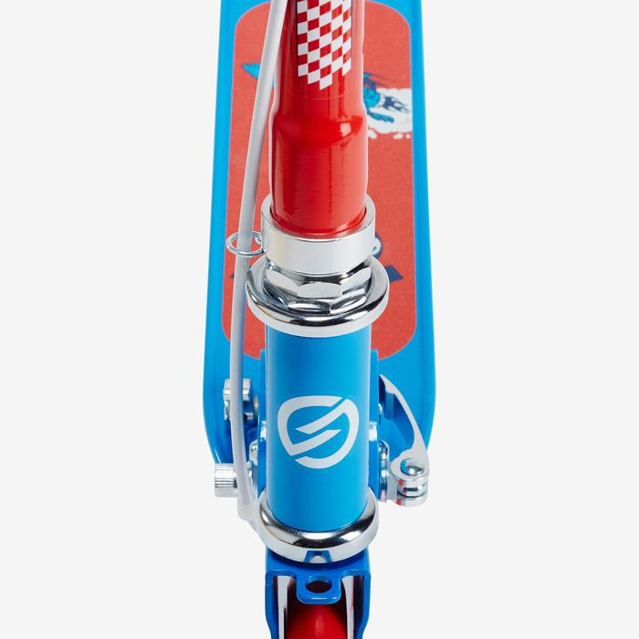 Fun-Scooter Play 5 mit Bremse Kinder blau