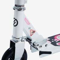 Mid 1 Girls' Scooter - White/Pink