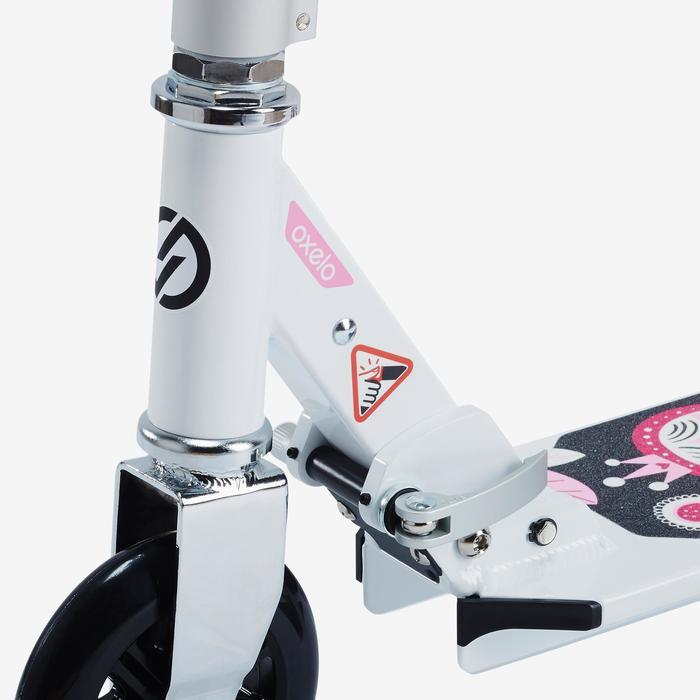 Fun-Scooter Mid 1 Mädchen weiß/rosa