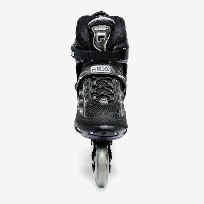 Inline-Skates Inliner Fitness Master Herren schwarz/grau