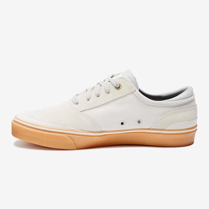 Lage skateschoenen voor volwassenen Vulca 500 crème