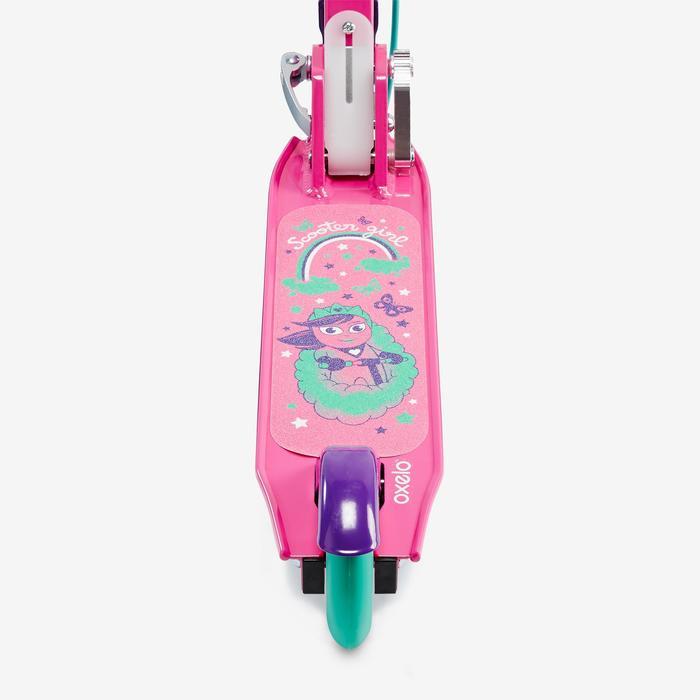 兒童附煞車滑板車Play 5 - 紫色
