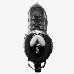 Fitness skeelers voor heren Master zwart grijs