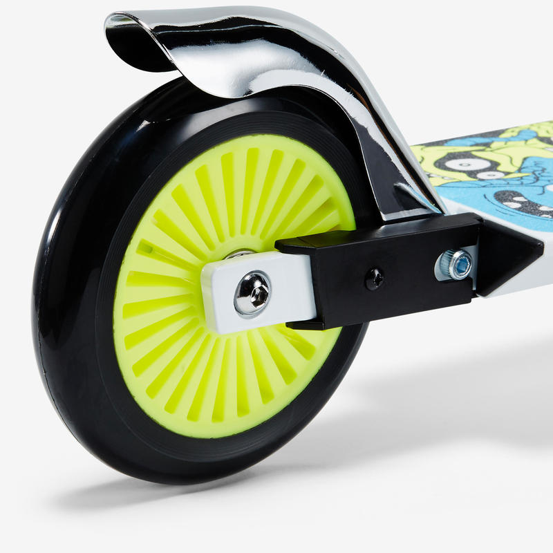SCOOTER INFANTIL PLAY 3 BLANCO/FLUO