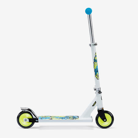 TROTTINETTE ENFANT PLAY 3 BLANCHE/FLUO