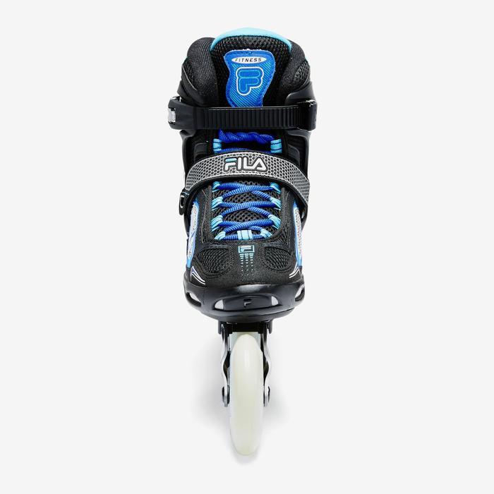 Inline-Skates Inliner Fitness Primo LX 90 Damen schwarz/blau/weiß