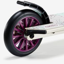 Kinder-Roller Scooter MID 5 mit Federung und Lenkerbremse mit Kaktusmotiv