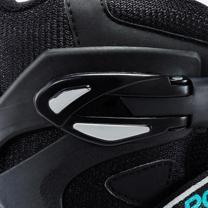 Roller fitness femme BRAVO noir turquoise - 1333297