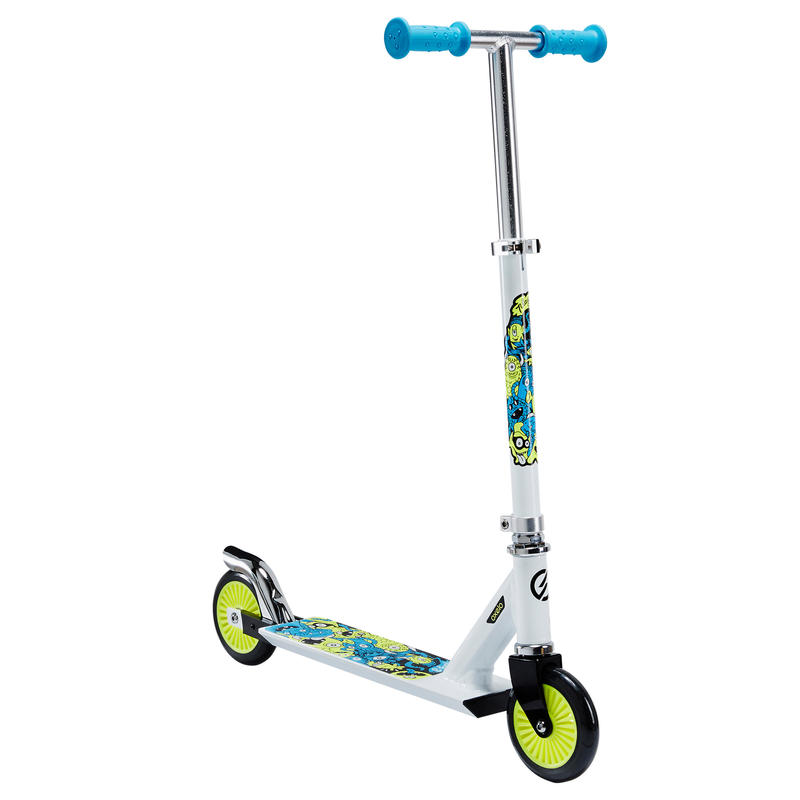 Kids' Scooter Play 3 - White/Neon