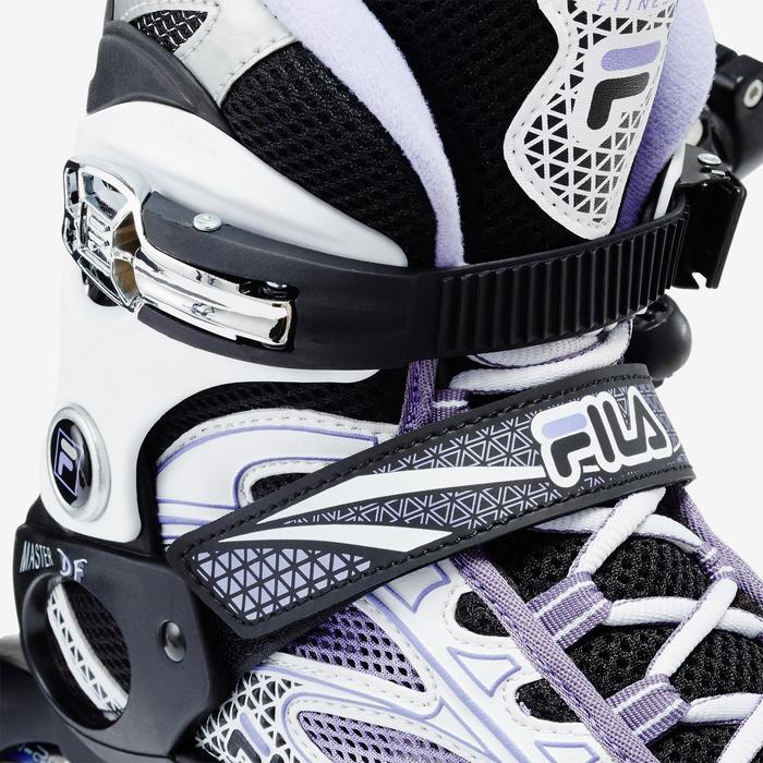Roller fitness femme MASTER lilas noir - 1333399