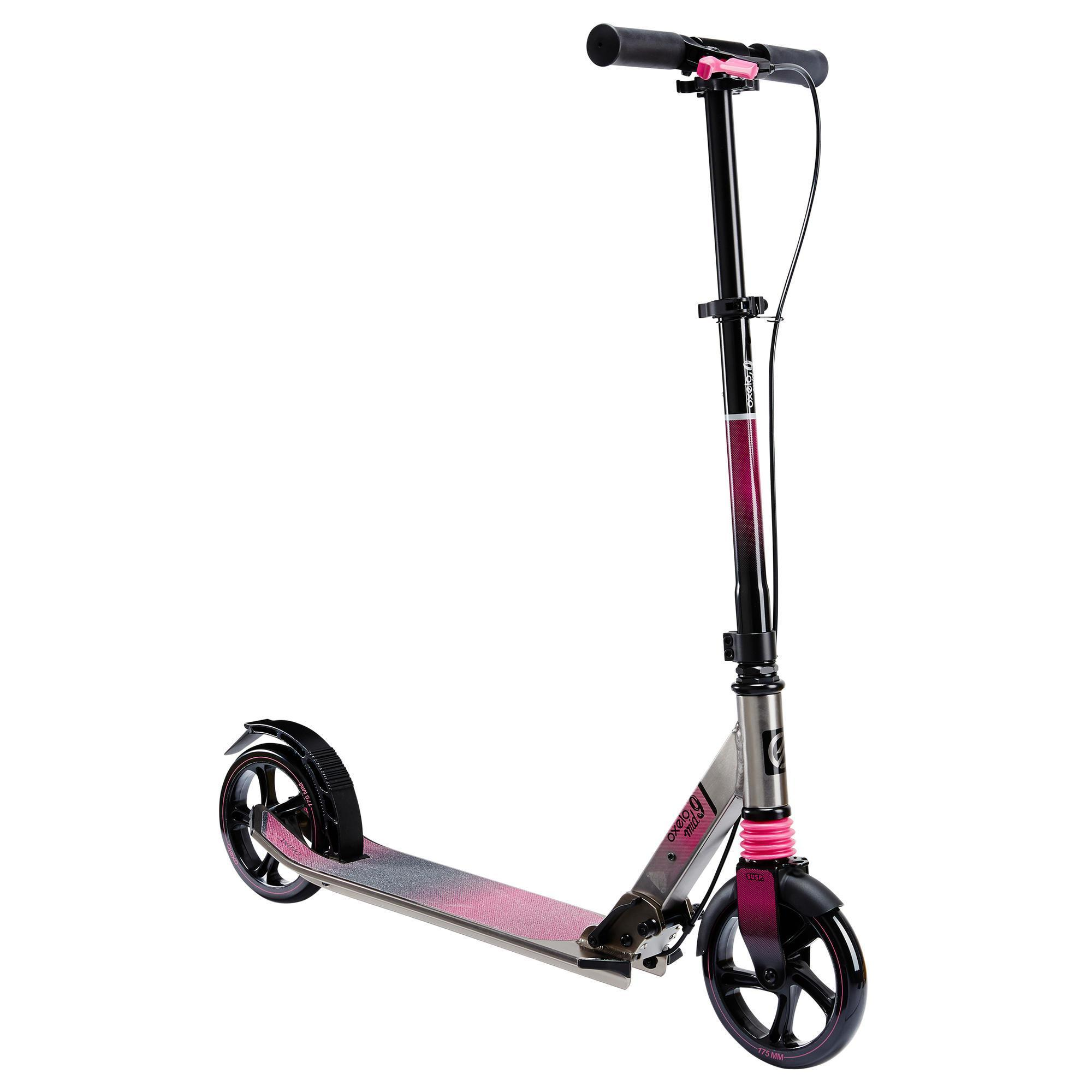 city roller scooter mid 9 mixed oxelo decathlon. Black Bedroom Furniture Sets. Home Design Ideas