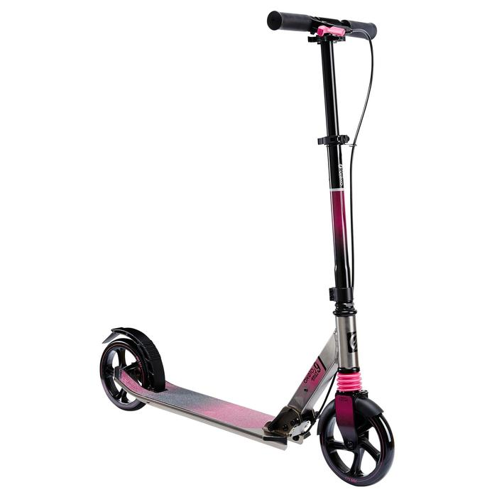 Patinete Scooter Oxelo MID 9 Niños Freno en el Manillar Rosa