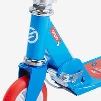 Patín del diablo-scooter Oxelo PLAY 5 Niños Freno Manubrio Azul/rojo