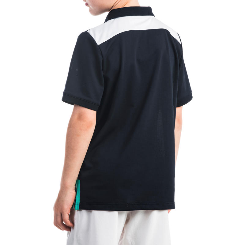 412432e6 900 Boys' Polo Shirt - White/Blue