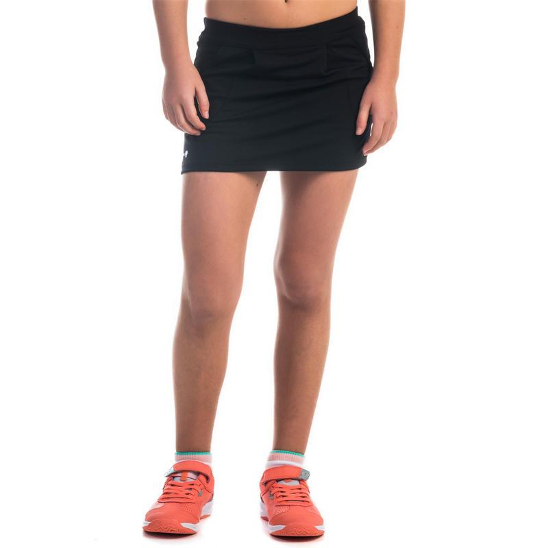 500 Girls' Pocket Skirt Black
