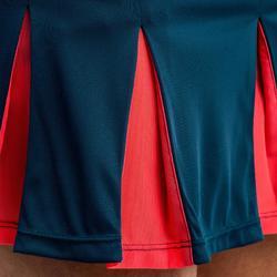 900 女童網球運動裙- 墨綠色