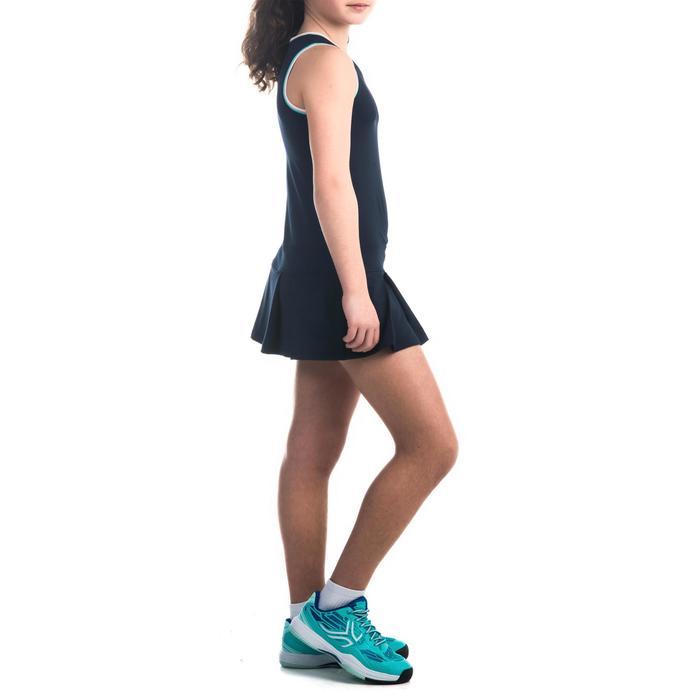 Jurk 500 meisjes marineblauw - 1333573