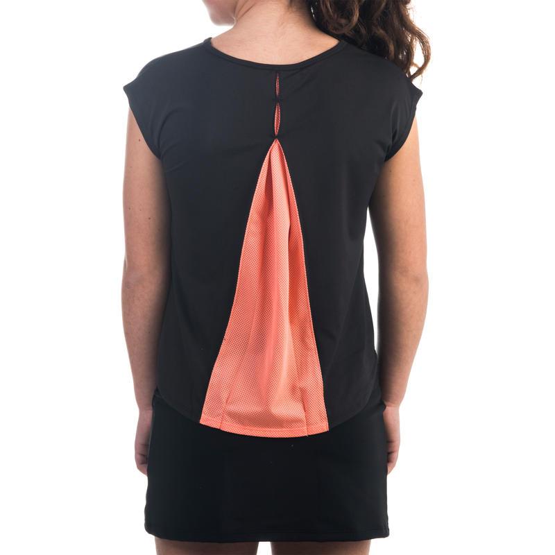 500 Girls' T-Shirt - Black
