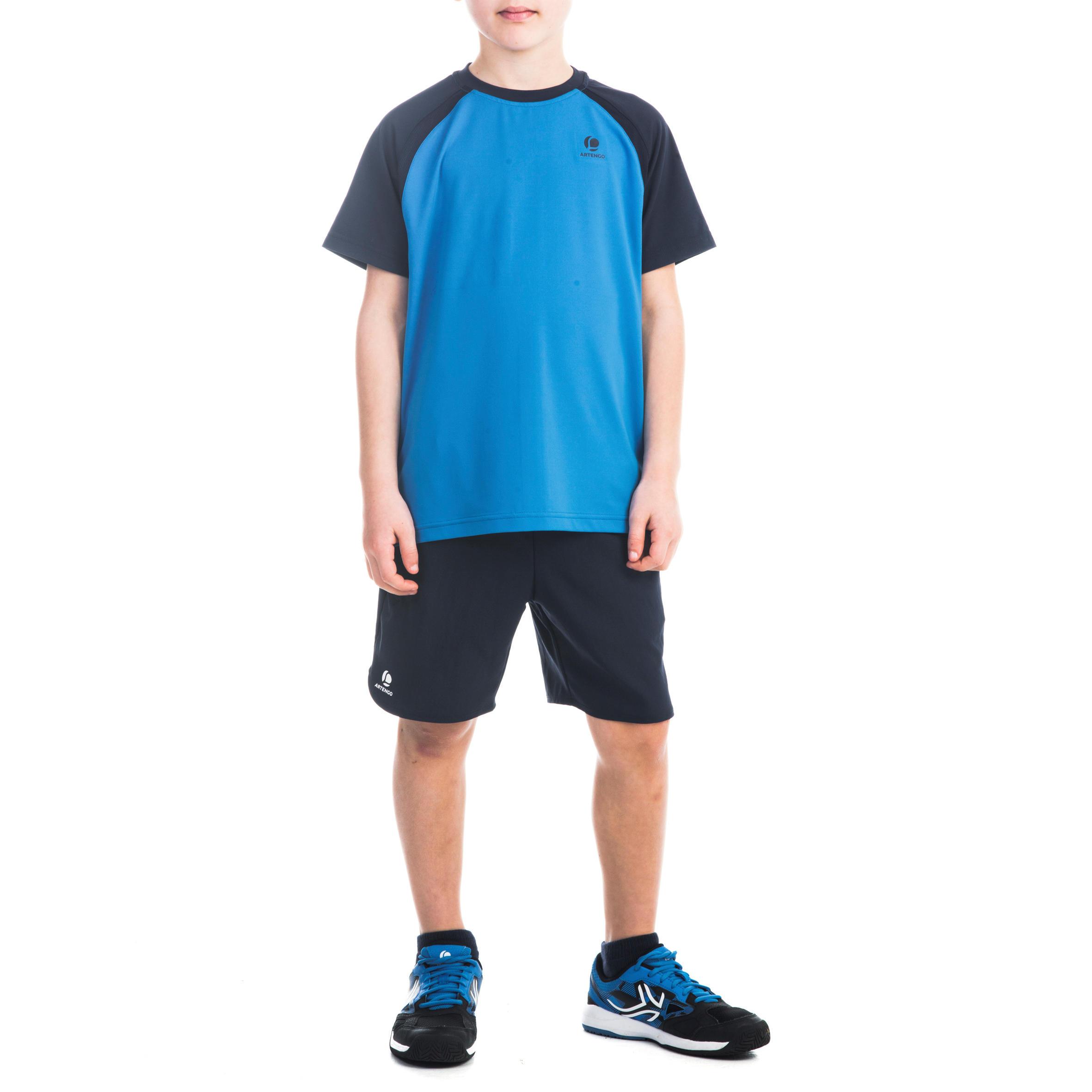 Shorts 500 Boys- Navy Blue