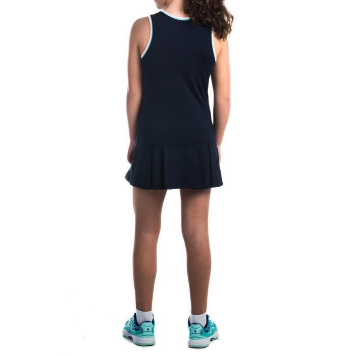 Jurk 500 meisjes marineblauw - 1333598