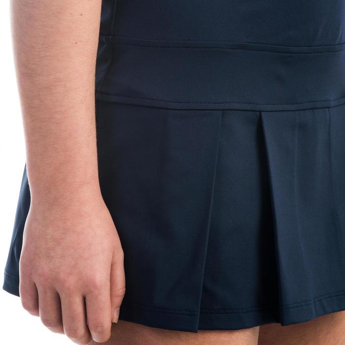 Jurk 500 meisjes marineblauw - 1333610
