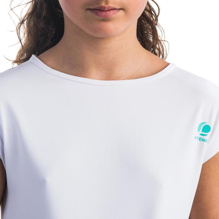 T-shirt 500 meisjes wit