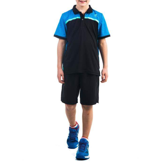 Shorts 900 Tennishose Kinder Jungen schwarz