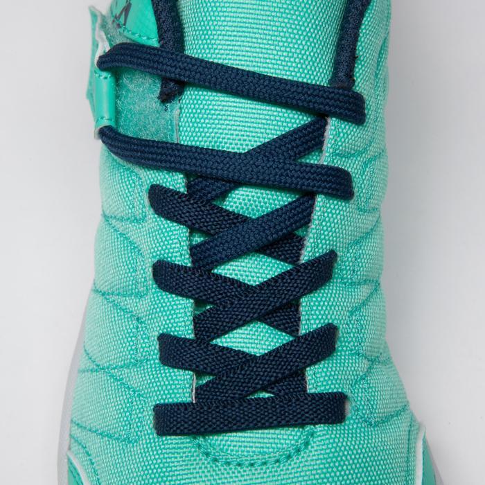 Chaussure de futsal enfant CLR 500 à scratch bleue - 1333735