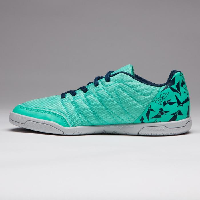 Chaussure de futsal enfant CLR 500 à scratch bleue - 1333736